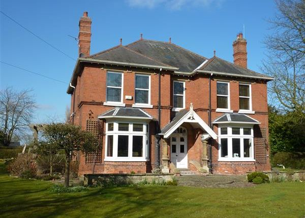 Thumbnail Detached house for sale in Holmfield, Station Road, North Thoresby, Grimsby