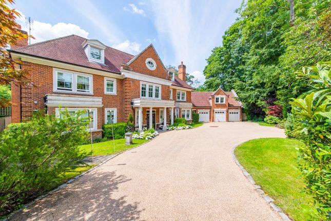Thumbnail Detached house for sale in Moles Hill, Oxshott, Surrey