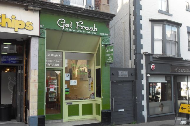Thumbnail Restaurant/cafe to let in High Street, Broadstairs
