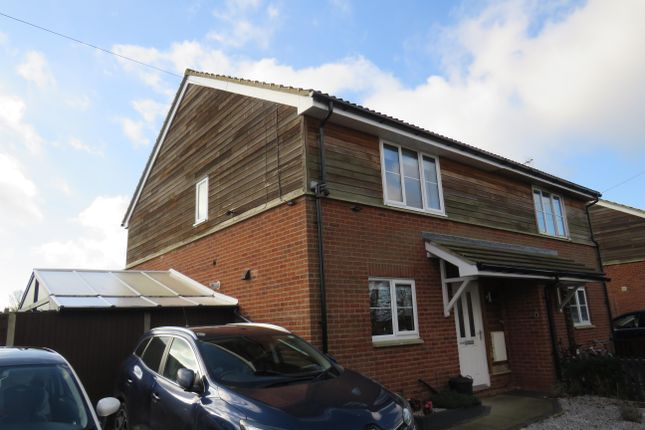 Thumbnail Semi-detached house to rent in Lawns Crescent, Little Downham, Ely