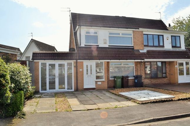 Thumbnail Semi-detached house for sale in Glebe Close, Maghull, Liverpool