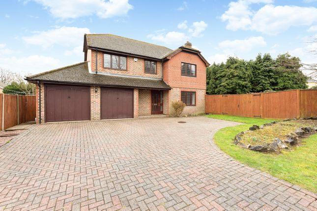Thumbnail Detached house for sale in Spring Cross Avenue, Blackwater, Camberley
