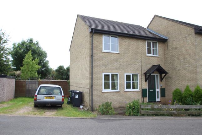 Thumbnail Semi-detached house to rent in North Street, Huntingdon