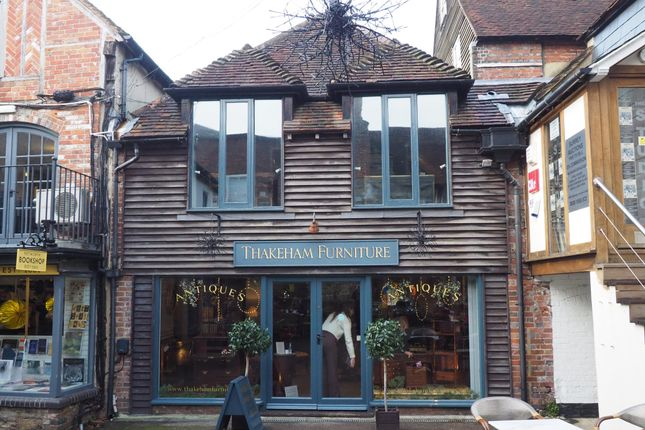 Retail premises to let in Golden Square, Petworth