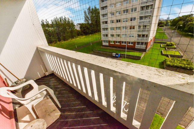 Balcony of 45 Kelhead Path, Glasgow G52