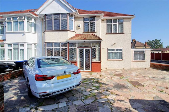 Thumbnail 5 bed end terrace house to rent in North Way, Kingsbury
