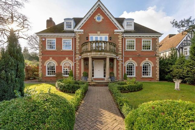 Thumbnail Detached house for sale in Park Drive, Little Aston Park, Sutton Coldfield