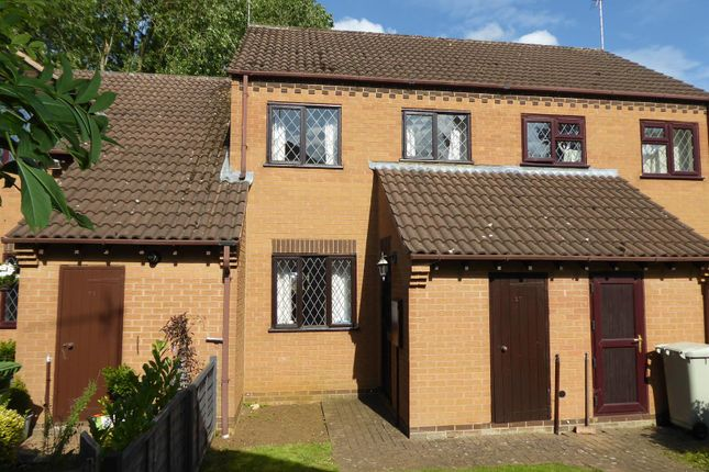 Thumbnail Terraced house for sale in Willow Close, Uppingham, Oakham