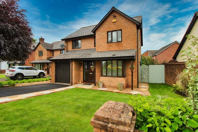 Thumbnail Detached house for sale in The Shires, Gilwern, Abergavenny