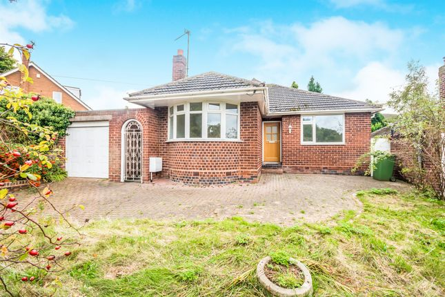 Thumbnail Detached bungalow for sale in Cartbridge Lane, Walsall