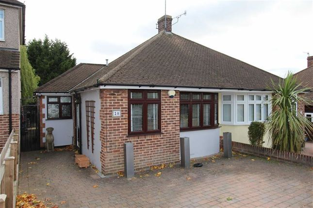 Thumbnail Semi-detached bungalow for sale in Harford Road, North Chingford, London