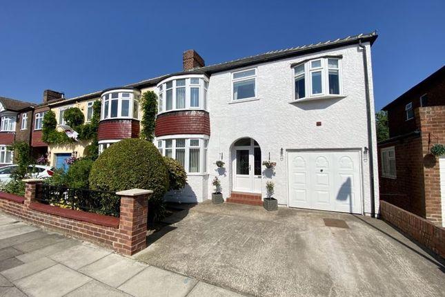 Thumbnail Semi-detached house for sale in Waltham Avenue, Fairfield, Stockton