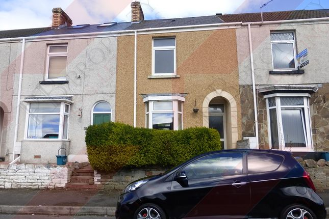 Thumbnail Terraced house to rent in Bayview Terrace, Brynmill, Swansea