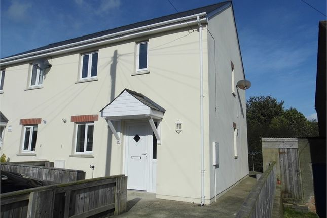 Thumbnail Semi-detached house to rent in Winch Crescent, Haverfordwest, Pembrokeshire