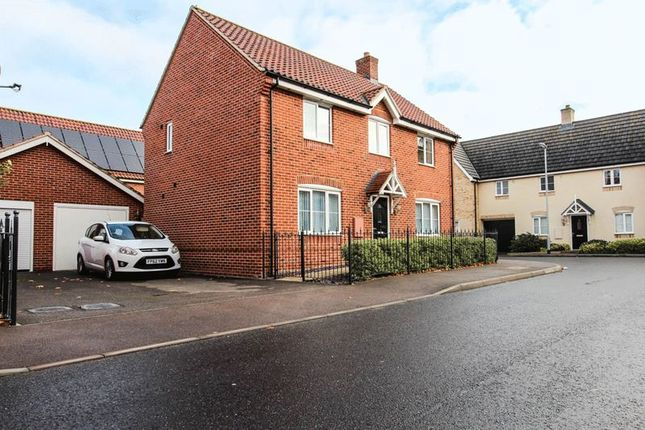 Thumbnail Detached house for sale in Gimbert Road, Soham, Ely