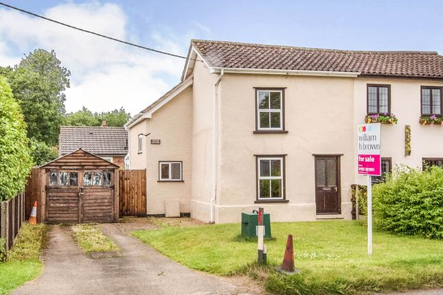 2 bed semi-detached house for sale in Cley Lane, Saham Toney, Thetford IP25