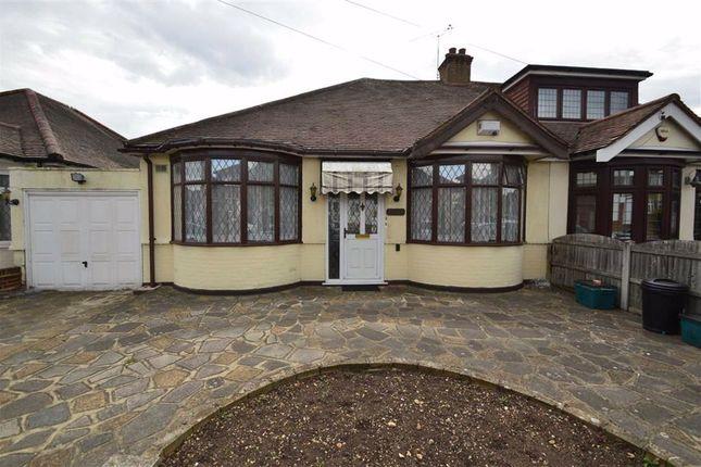 Thumbnail Semi-detached bungalow for sale in Falmouth Gardens, Redbridge, Essex