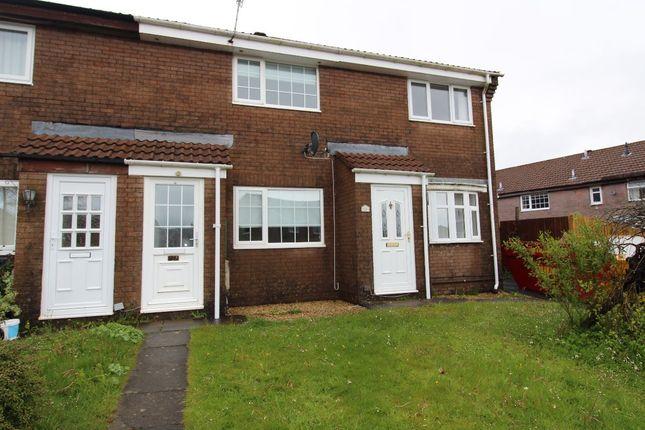 Thumbnail Terraced house for sale in Briar Close, Rassau, Ebbw Vale