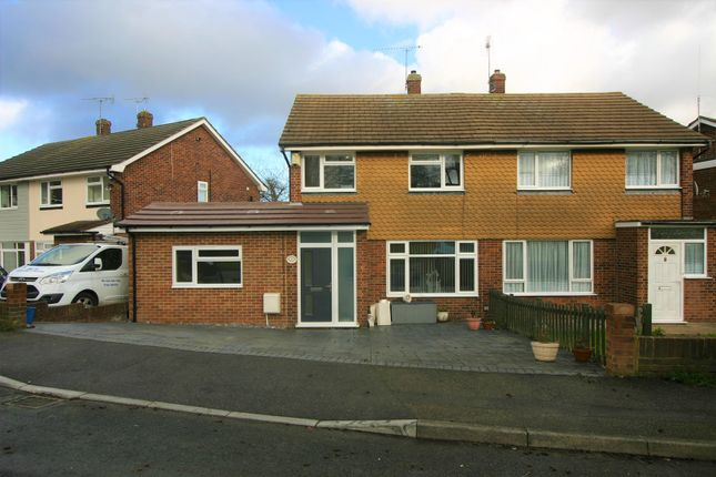 Thumbnail Semi-detached house for sale in Rowland Close, Gillingham