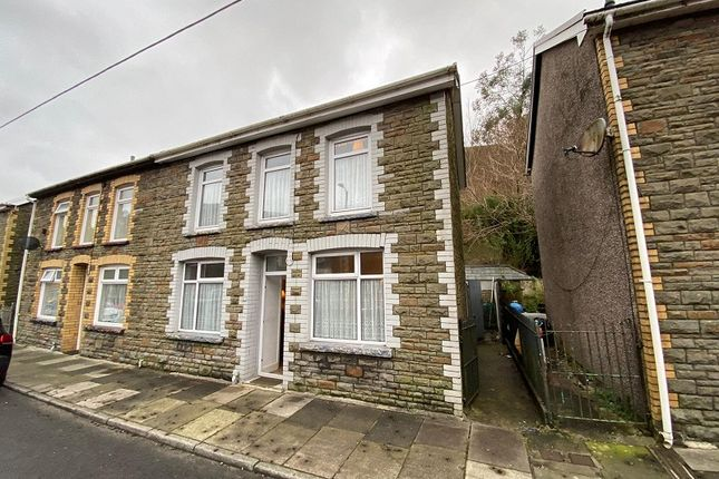 Semi-detached house for sale in Walters Road, Ogmore Vale, Bridgend, Bridgend County.