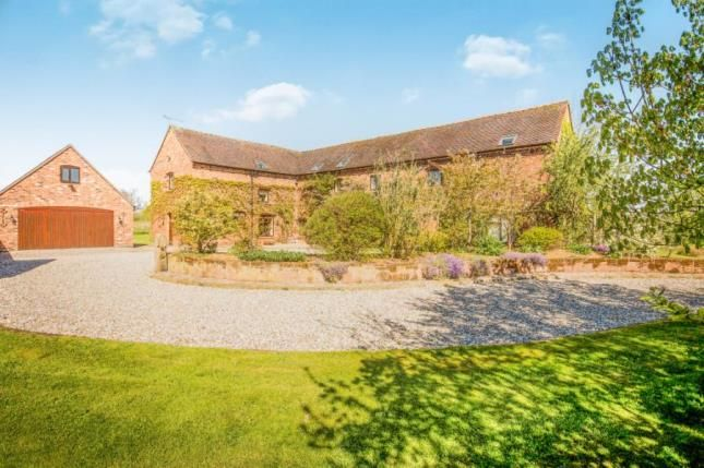 Thumbnail Barn conversion for sale in Sound Lane, Sound, Nantwich, Cheshire