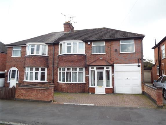 Thumbnail Semi-detached house for sale in Kirkland Road, Leicester, Leicestershire