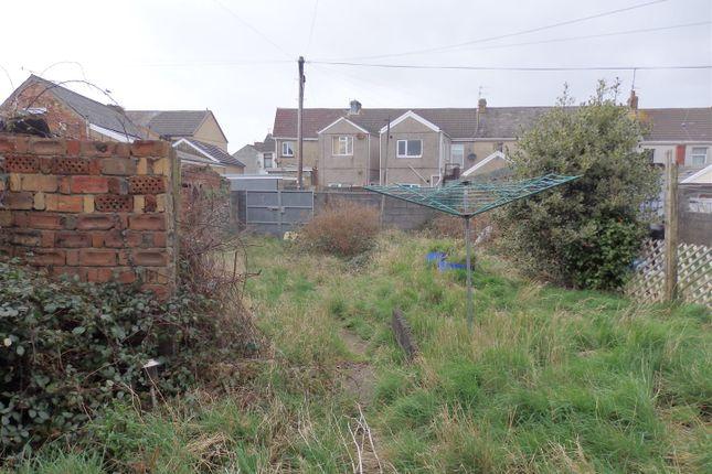 Externally: of Ralph Terrace, Llanelli SA15