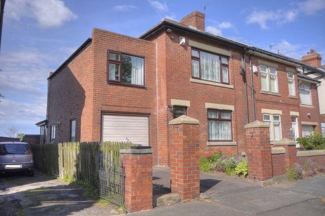 Thumbnail Semi-detached house for sale in Station Road, Cramlington