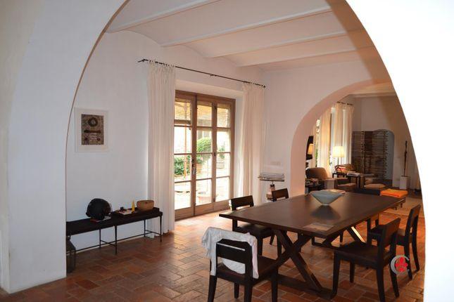 Dining Room of Montefollonico, Torrita di Siena, Tuscany, Italy