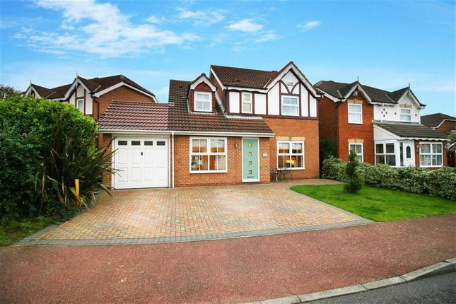 Thumbnail Detached house for sale in Thirlington Close, Westerhope, Newcastle Upon Tyne
