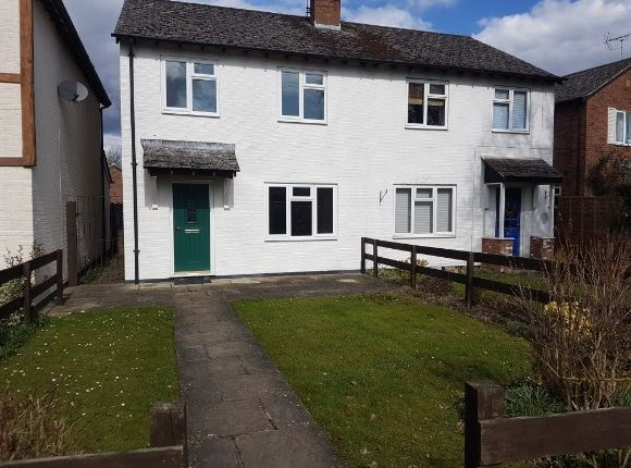 Thumbnail End terrace house to rent in Bearcroft, Weobley, Hereford