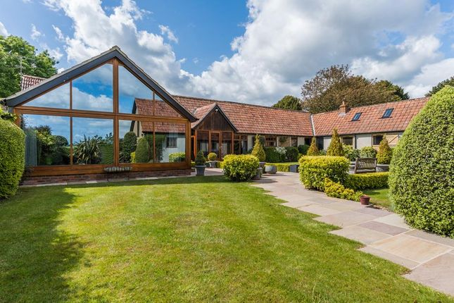 Thumbnail Barn conversion for sale in Popham, Micheldever, Winchester