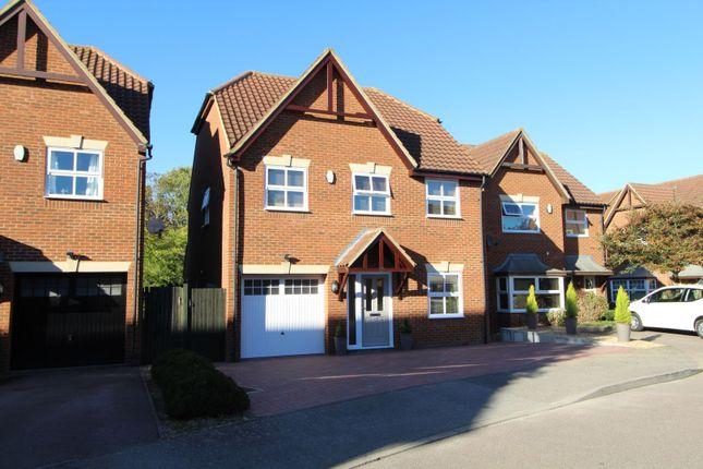Thumbnail Detached house for sale in Welbeck Close, Milton Keynes