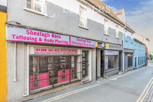 Thumbnail Studio to rent in Vineyard Street, Colchester
