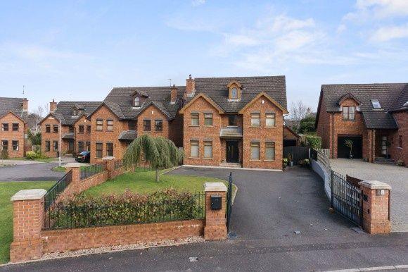 Thumbnail Detached house for sale in Primrose Garden Village, Lisburn