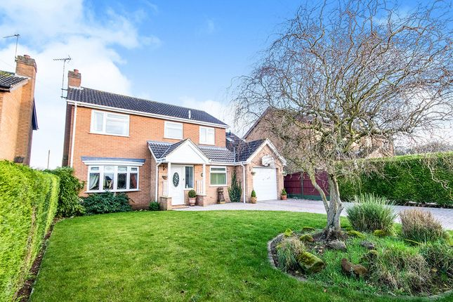 Thumbnail Detached house for sale in Beech Road, Branston, Lincoln