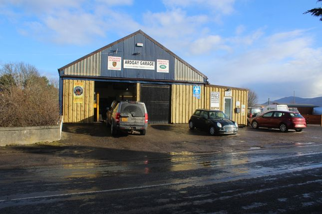 Thumbnail Parking/garage for sale in Ardgay Garage, Ardgay, Sutherland