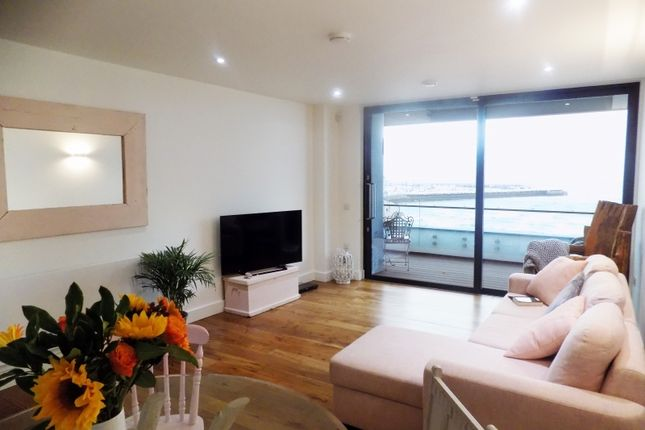 Thumbnail Flat to rent in Abbey Sands, Torbay Road, Torquay