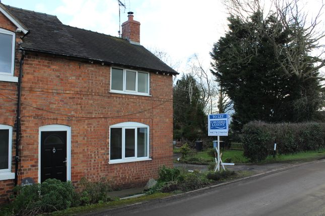 Thumbnail Semi-detached house to rent in Burland, Swanley, Nantwich, Cheshire