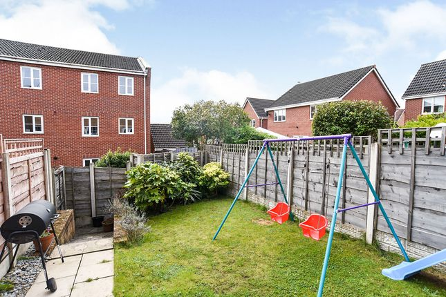 Rear Garden of Bayleyfield, Hyde, Greater Manchester SK14