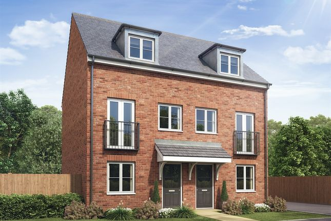 """Thumbnail Semi-detached house for sale in """"The Greyfriars"""" at Lime Avenue, Saffron Walden"""