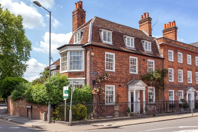 Thumbnail End terrace house for sale in High Street, Marlow, Buckinghamshire