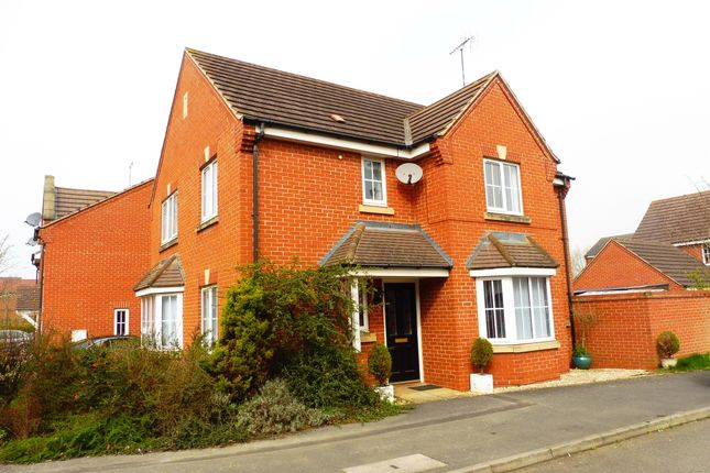 Thumbnail Detached house for sale in Aqua Place, Rugby