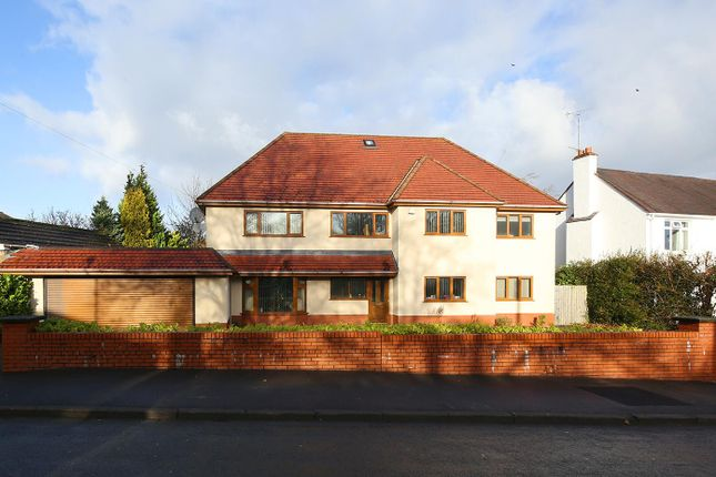 Thumbnail Detached house for sale in Westminster Crescent, Cyncoed, Cardiff