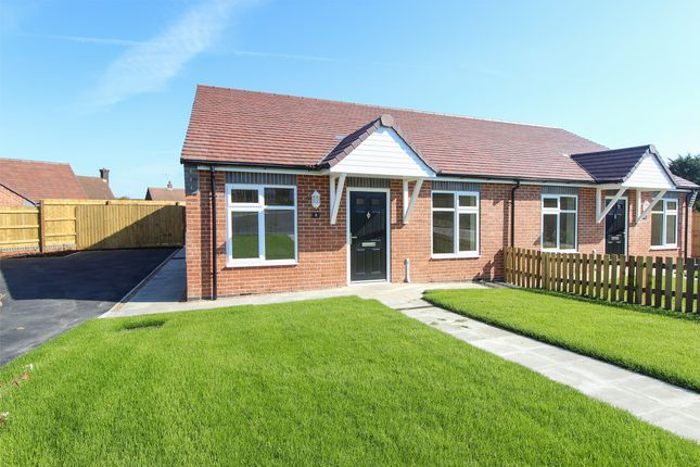 Thumbnail Semi-detached bungalow for sale in Masefield Avenue, Holmewood, Chesterfield