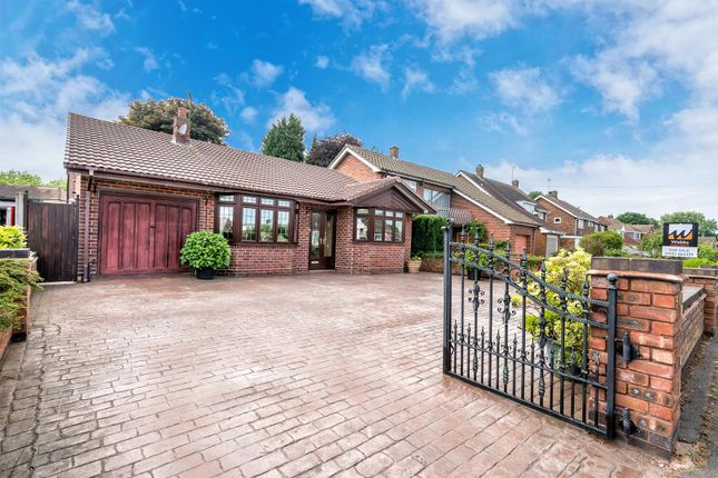 Thumbnail Detached bungalow for sale in Sanstone Road, Bloxwich, Walsall