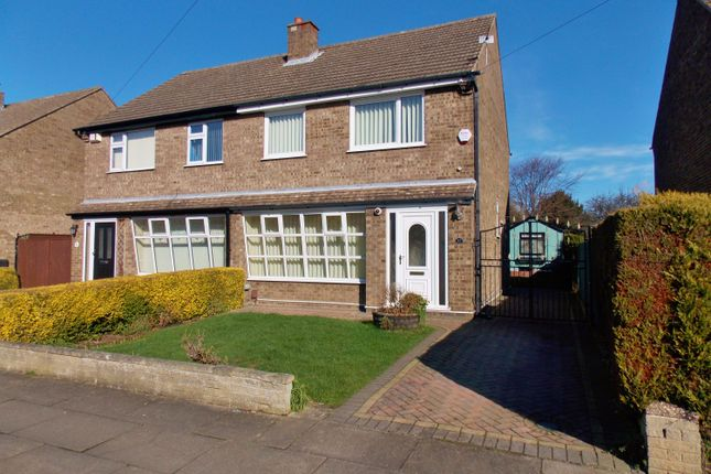 Thumbnail Semi-detached house for sale in Canterbury Drive, Grimsby