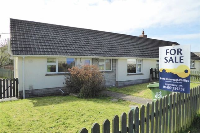 Thumbnail Semi-detached bungalow for sale in Barn Close, Shebbear, Beaworthy