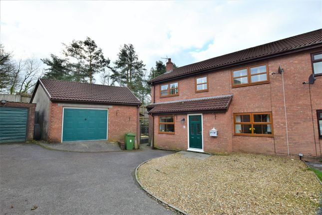 Thumbnail Semi-detached house for sale in The Hollies, Brynsadler, Pontyclun
