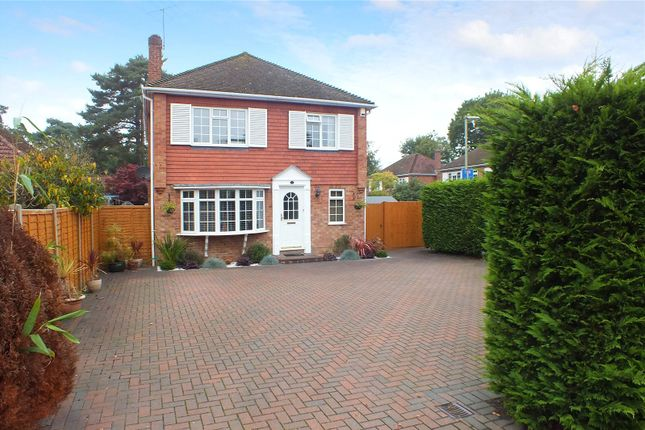 Thumbnail Detached house for sale in Rufford Close, Fleet